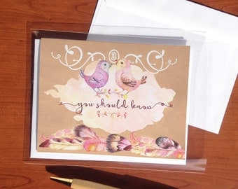 Your Example-Little Birds - jw greeting cards - jw cards