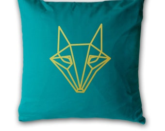 Origami Fox Cushion