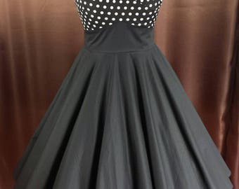 Rockabilly 50s prom prom registry confirmation dress