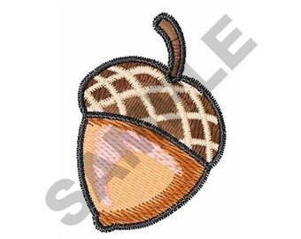 Acorn Nut - Machine Embroidery Design