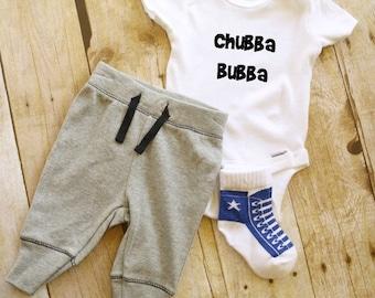 Chubba Bubba  Baby Onesie // Nursing Onesie  // Baby Onesie // Funny Baby shirt // Funny Baby Onesie