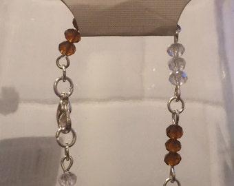 Handmade Crystal Bead Bracelet