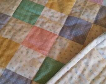 Pastel blocks and ABC's