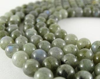 8 mm labradorite beads gray moonstone flashy labradorite grey beads natural labradorite stones round beads rare beads labradorite gemstone