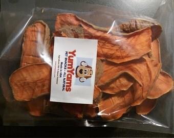 All Natural Home Goodness Sweet Potato Dog Chews 16 Ounce Zipper Lock Bags