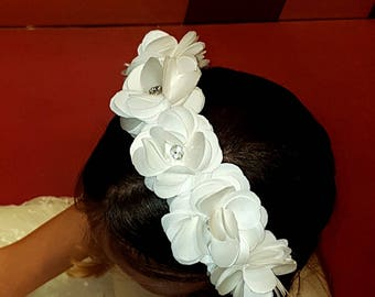 wedding headband, headband hairband, bridesmaids, first communion