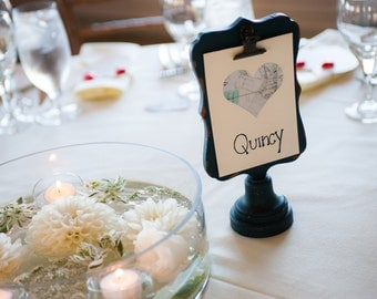 Where on Earth... Table Seating Cards