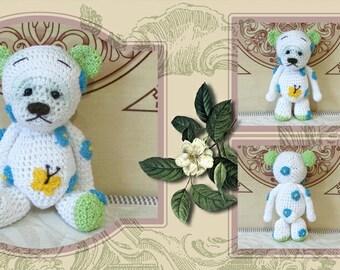 Teddy Bear. Crochet Toy.Soft toys.