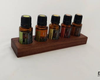 Essential Oil Tray - Wooden Essential Oil Holder - Small Essential Oil Trays - Essential Oil Storage Tray