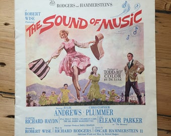 """The Sound Of Music - """"Piano Selection"""" - sheet music (Julie Andrews / Christopher Plummer)"""