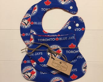 Blue Jays Baby Bibs Shower Gift Set