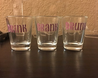 Drink Drank Drunk Glass shotglasses