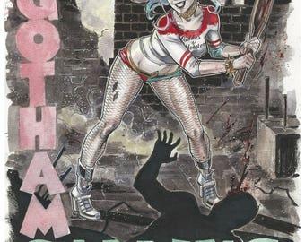 Harley Quinn The Calling Print :)