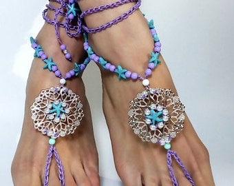 BAREFOOT sandals,foot jewelry,Gypsy,Wedding Barefoot shoes,feet Jewelry,barefoot sandal,Hippie Sandals,Foot Jewelry, anklet
