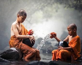 Asian art photo print