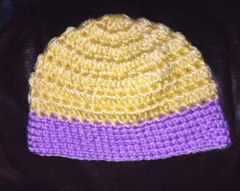Crocheted Baby Girl Beanie