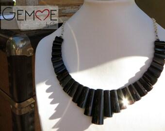 Stylish Black Onyx Necklace. Necklace onyx.
