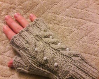 Light Gray hand warmers