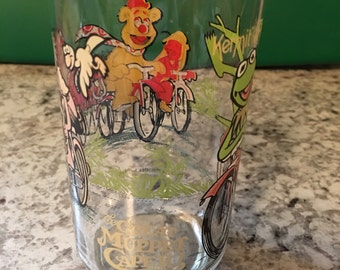 The Great Muppet Caper vintage Glass