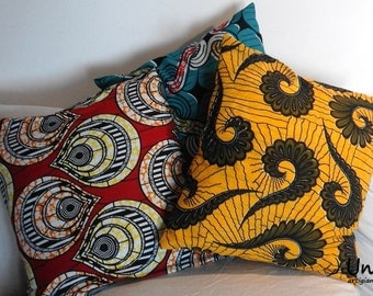 African ethnic fabric pillowcase