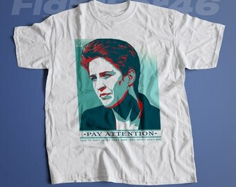 Pay Attention  | Men's Unisex Rachel Maddow Free Press T-Shirt | Hope Parody Political T-Shirt and Clothing