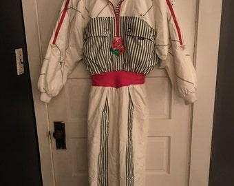 Vintage Designer Schmello Anorlap Snowsuit