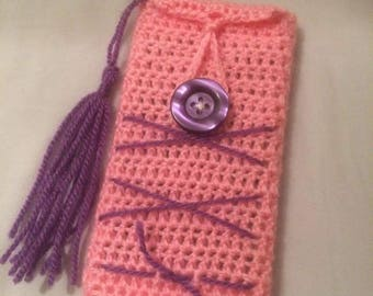 iPhone 6 crocheted case