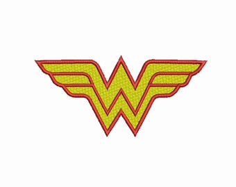 Wonder woman embroidery 11 Siz Design Instant Download 8 Formats machine embroidery pattern Download machine embroidery pattern