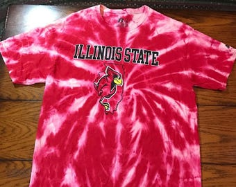 Acid Washed Illinois State University T-Shirt