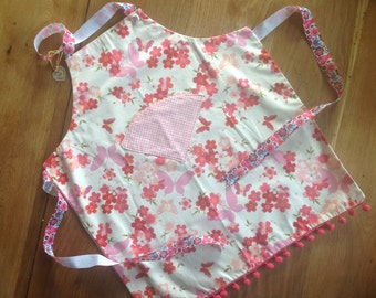 Child's reversible apron