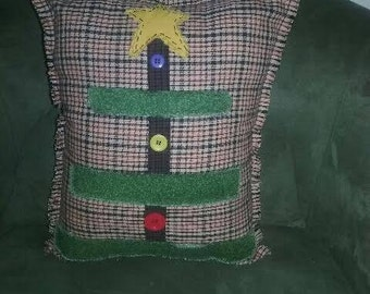 Primitive Tree Pillow
