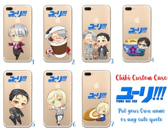 Yuri on Ice Chibi Custom Phone Case