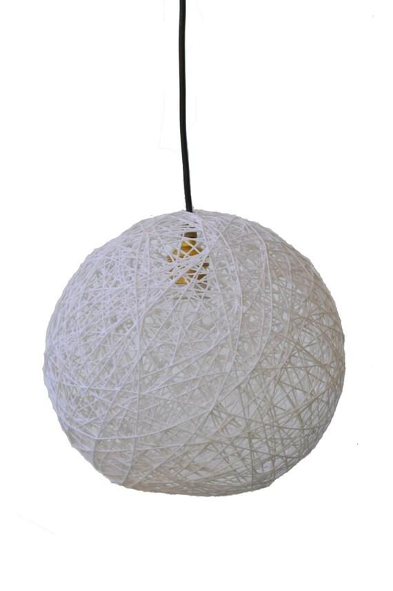 Deckenleuchte clipart  Große weiße Kugel Leuchte Pendelleuchte. Moderne