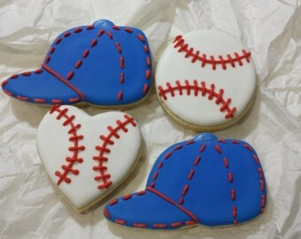 Gluten free baseball sugar cookies, 1 doz.