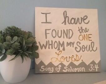 Song of Solomon 3:4 Bible Verse