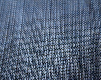 18 Lovely blue tweed like upholstery material
