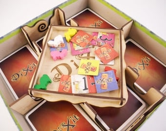 Dixit board games, wood insert, organaizer for Dixit
