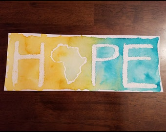 HOPE Watercolor 4isx8ish A2