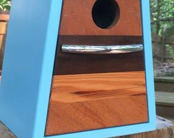 Custom made birdhouse