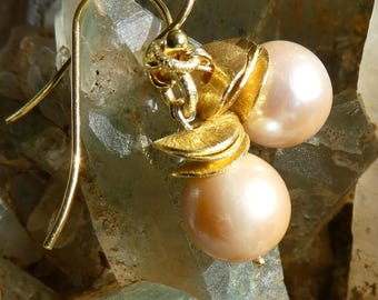 Pearl Earrings creme ''Luisa''