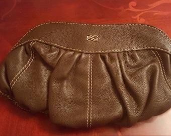 Vintage Lancel Leather Hobo Satchel