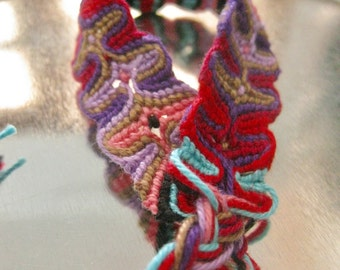 Friendship Bracelet, Macrame