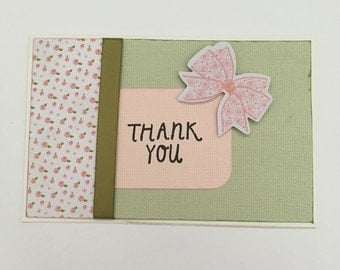 Handmade Card - Thank You (TY02)