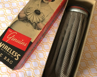 "Vintage Ice Bag ""The Genuine Wireless"""