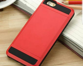 phone case with card storage