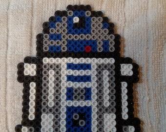 R2-D2 Perler Bead Sprite 4.5 Inch