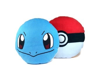 Pokemon pillow Squirtle | Cute Squirtle toy | Pokemon toy-pillow - SoftDecor