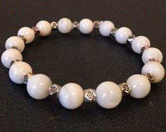 Bonewhite Elegance Bracelet