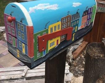Mailbox Newfoundland Jellybean Row House