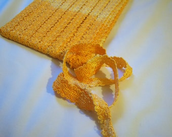 Ombre-style Orange lace